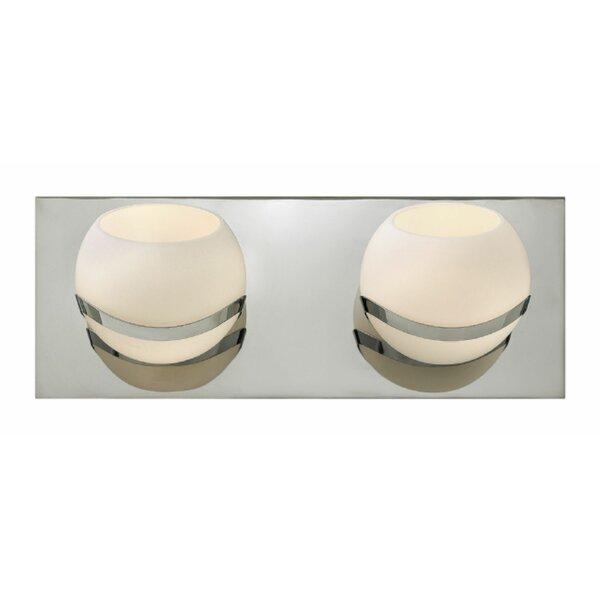 Nova 2-Light Bath Bar by Hinkley Lighting