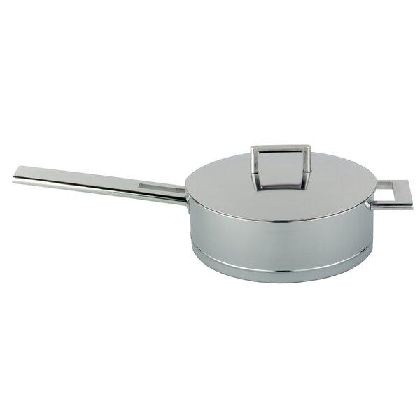 Demeyere John Pawson 5.1 Quart Stainless Steel Saute Pan by Demeyere