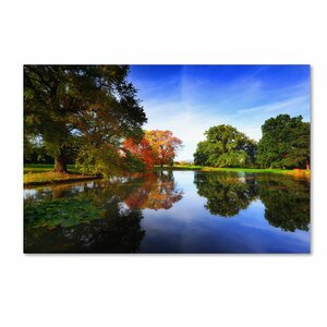 Autumnal Beauty Photographic Painting Print on Canvas by Trademark Global
