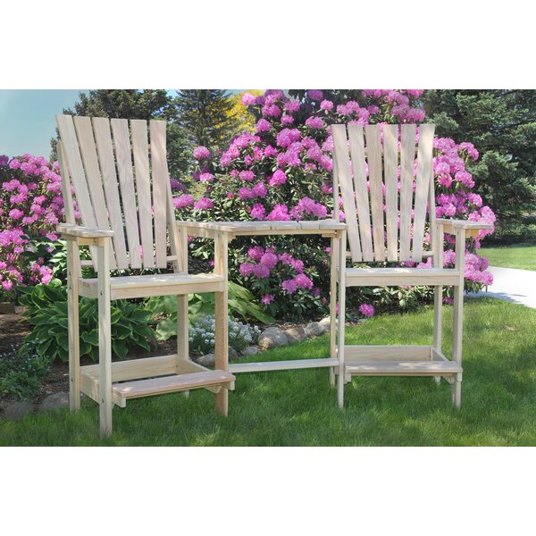 Aisley Patio Bar Stool Set by Longshore Tides