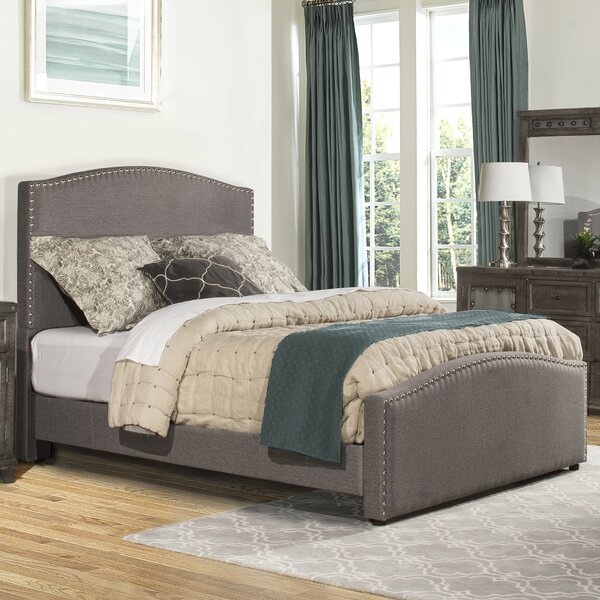 Harleigh Upholstered Standard Bed by Darby Home Co