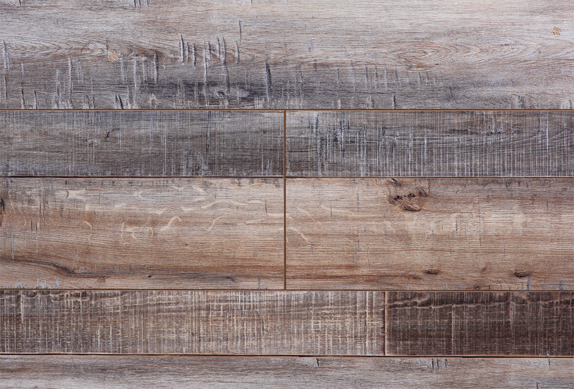 Serradon Barnwood Country 7 5 X 72 12 3mm Maple Laminate Flooring Reviews Wayfair