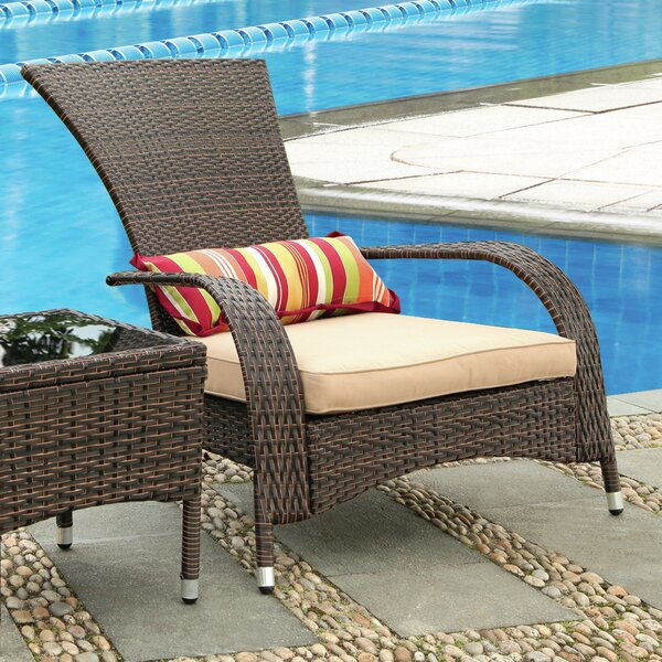 Mangold Patio Chair with Cushion by Ivy Bronx