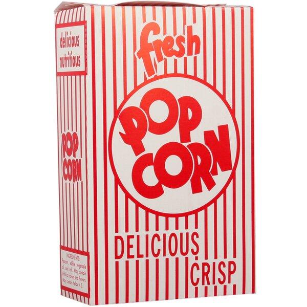 Close-Top Popcorn Box (Set of 100) by Snappy Popcorn