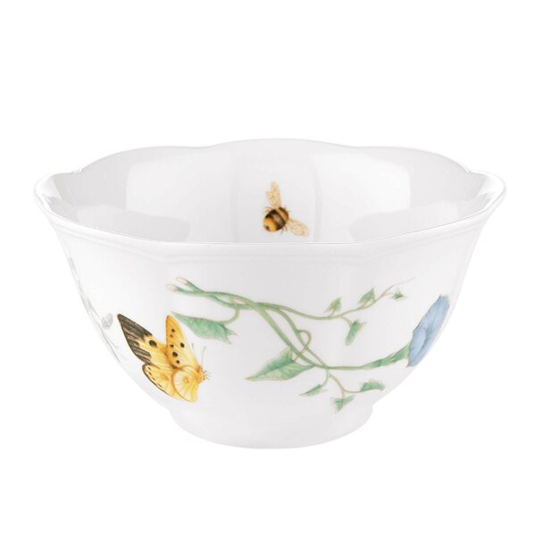 Butterfly Meadow Rice Bowl (Set of 4) by Lenox