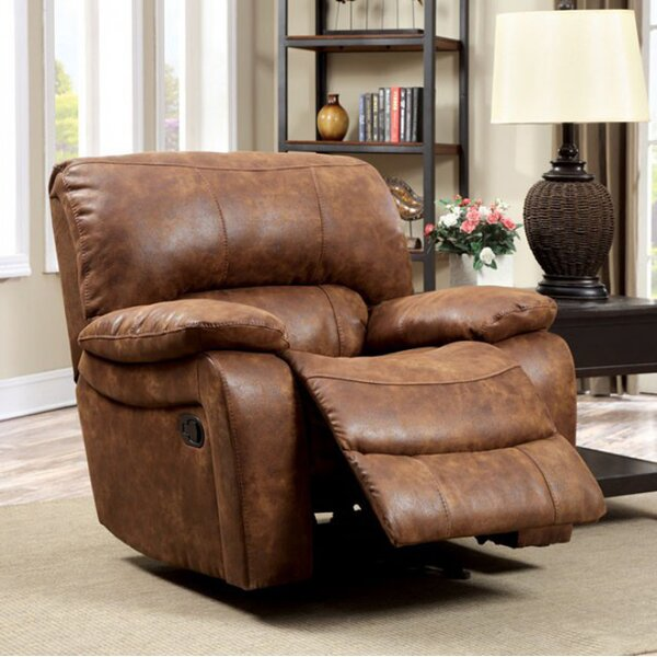 Rowena Manual Glider Recliner by Loon Peak