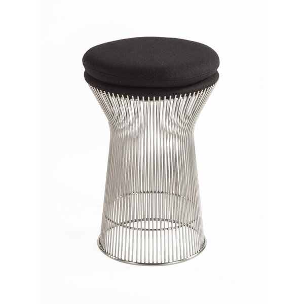 Fishburne Leather Stool by Stilnovo