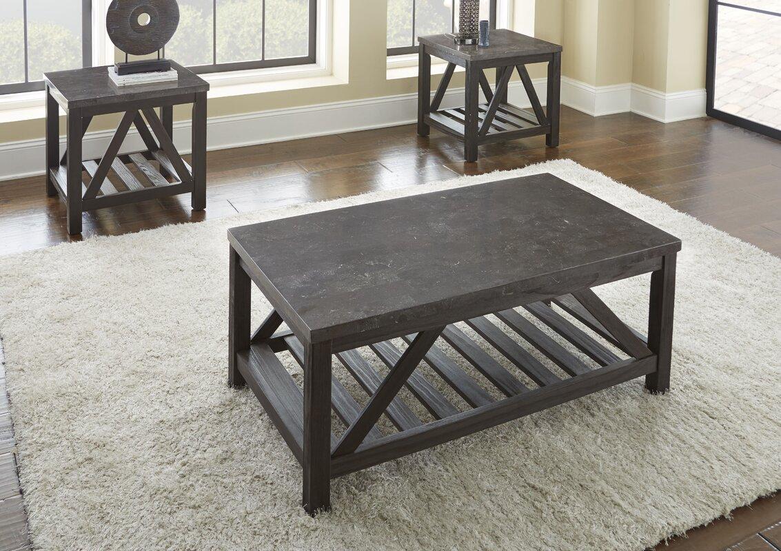 Lewisburg 2 Piece Coffee Table Set