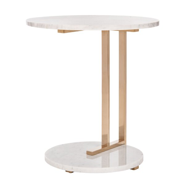 Aphrodite Marble Top C End Table By Mercer41
