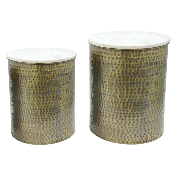 Trevion 2 Piece Nesting Tables By Bungalow Rose