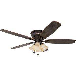 52 Glen Alden 5 Blade Hugger Ceiling Fan
