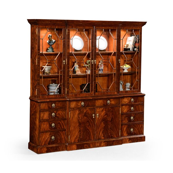 Buckingham Triple Lighted China Cabinet By Jonathan Charles Fine Furniture Design