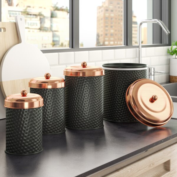 Kitchen Canister Set (Set of 4) by Langley Street