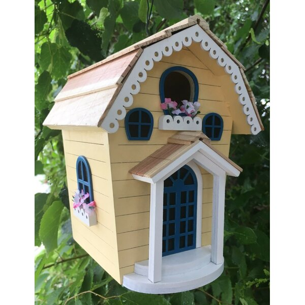 Nestling Series Storybook 8 in x 6 in x 6 in Birdhouse by Home Bazaar