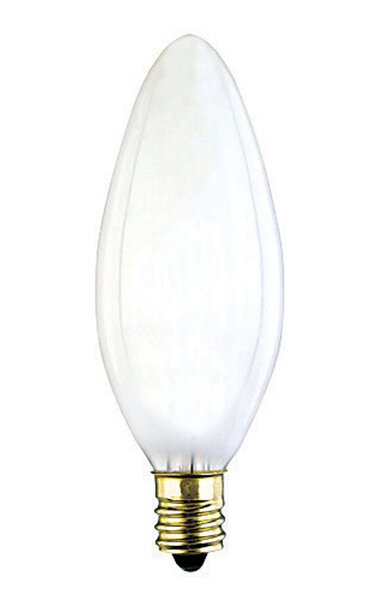 25W E12 Dimmable Incandescent Edison Candle Light Bulb by Westinghouse Lighting