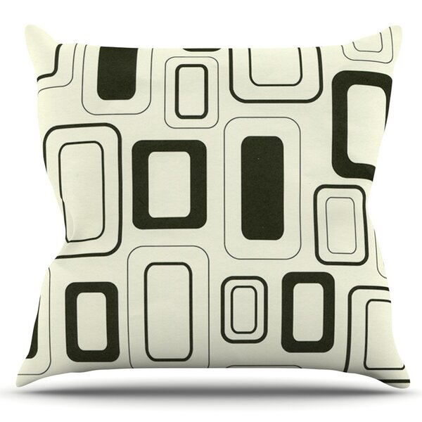 Cubes For Days by Heidi Jennings Outdoor Throw Pillow by East Urban Home