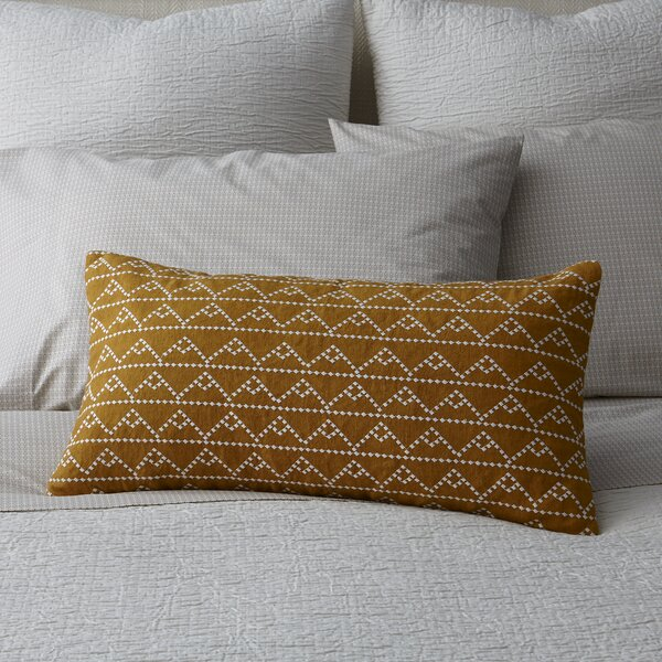 Modern Pyramid Decorative Pillow by DwellStudio