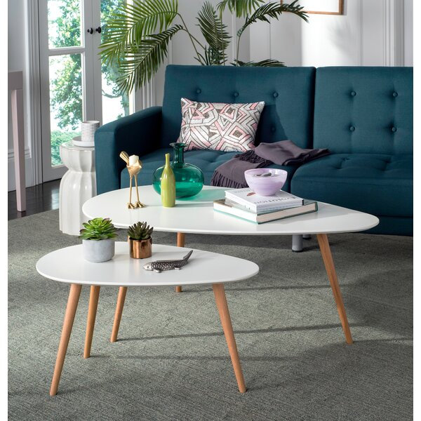 Basil 2 Piece Coffee Table Set By Langley Street™