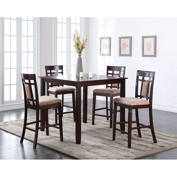 Belmont 5 Piece Counter Height Dining Set by Bloomsbury Market