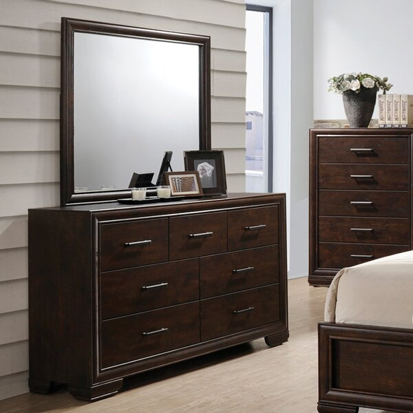 Hiller 7 Drawer Dresser by Alcott Hill