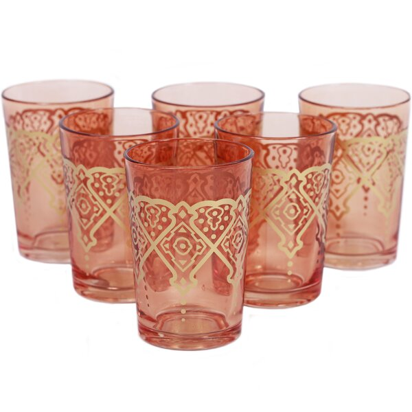 Punto Moroccan Tea Glass (Set of 6) by Found Object