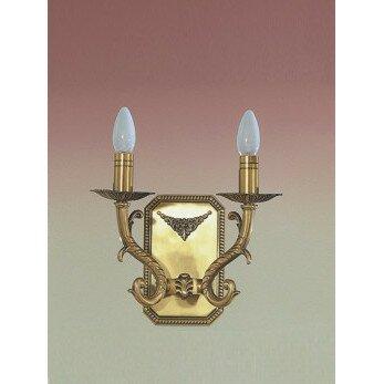 Morain 2-Light Candle Wall Light by Zanin Lighting Inc.