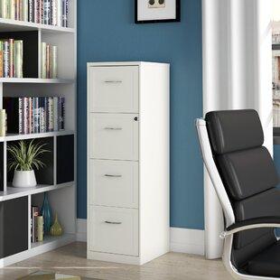 Cavitt 4 Drawer Vertical Filing Cabinet By Ebern Designs