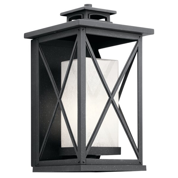 Uriel 1-Light Outdoor Flush Mount by Gracie Oaks