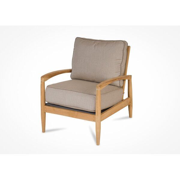 Cottman Teak Patio Chair with Sunbrella Cushions by Corrigan Studio