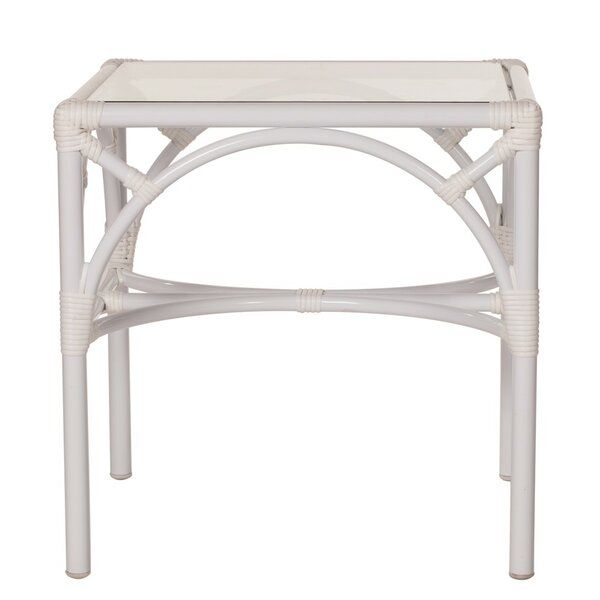 Chippendale Aluminum Side Table by David Francis Furniture