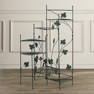 Best Deals Heathcote Climbing Vines Multi-Tiered Plant Stand By Alcott Hill