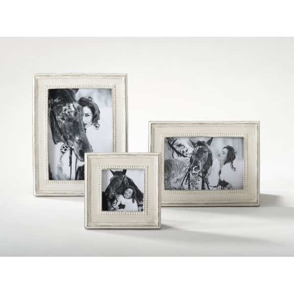 Distressed Wooden Photo Picture Frame by Saro