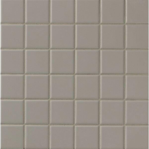 Elements Glazed 2 x 2 Mosaic Tile in Dark Gray by Grayson Martin