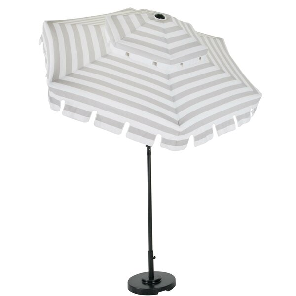 Connie Stripes 6.7' Beach Umbrella by Novogratz Novogratz