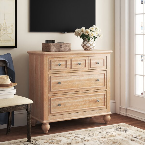 Romford 3 Drawer Double Dresser by Three Posts