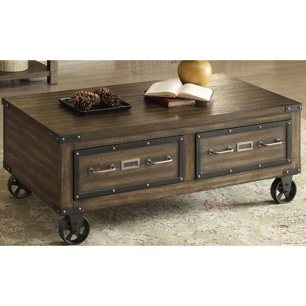 Willey Coffee Table with Storage by Andrew Home Studio