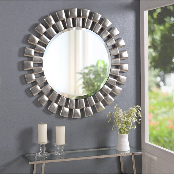Galm Sunburst Accent Mirror by Willa Arlo Interiors