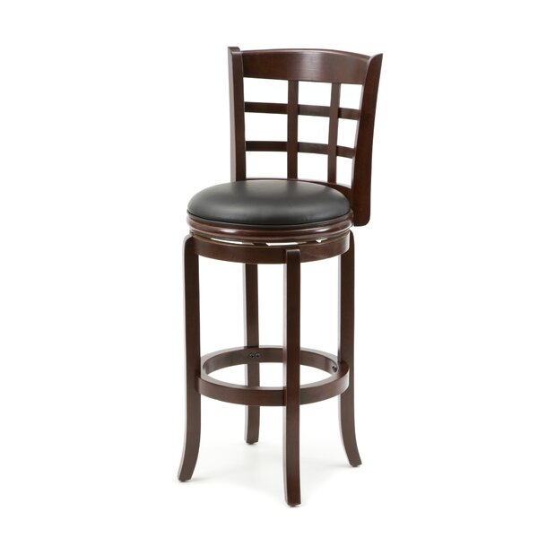 Farmington 29 Swivel Bar Stool by Darby Home Co