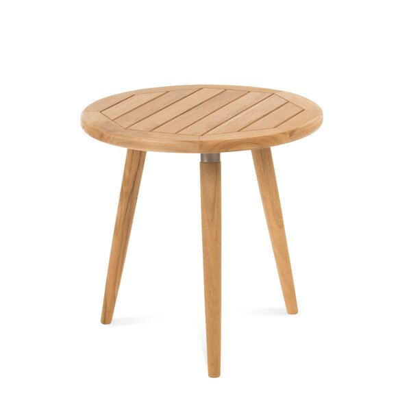 Dasilva Teak Side Table by Corrigan Studio
