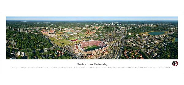 NCAA Aerial Photographic Print by Blakeway Worldwide Panoramas, Inc