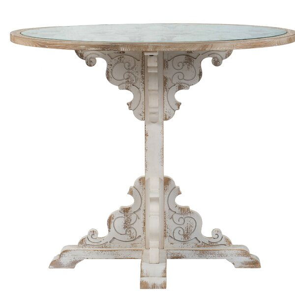 Bickley Pedestal End Table By Ophelia & Co.