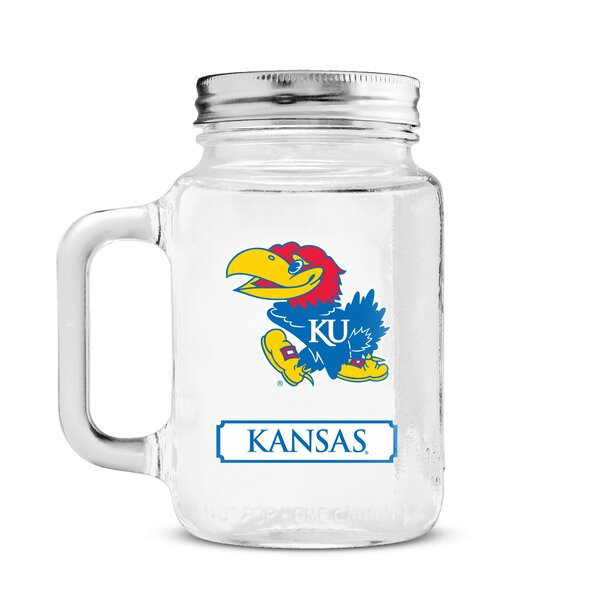 NCAA Mason Jar by DuckHouse