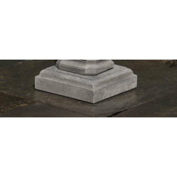 Square Urn Plinth Pedestal by Campania International