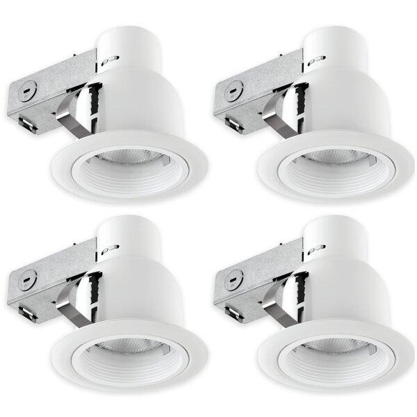 Globe Electrics 4 Recessed Lighting Kit By Globe Electric Company.