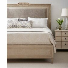Upholstered Panel Bed by Stanley Furniture