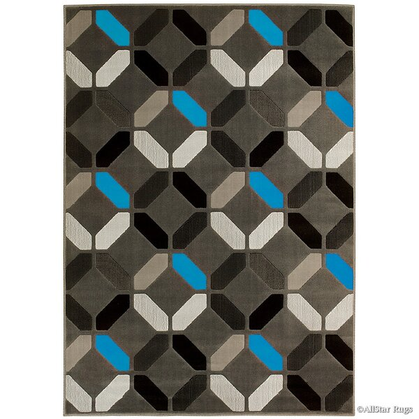 Blue Area Rug by AllStar Rugs