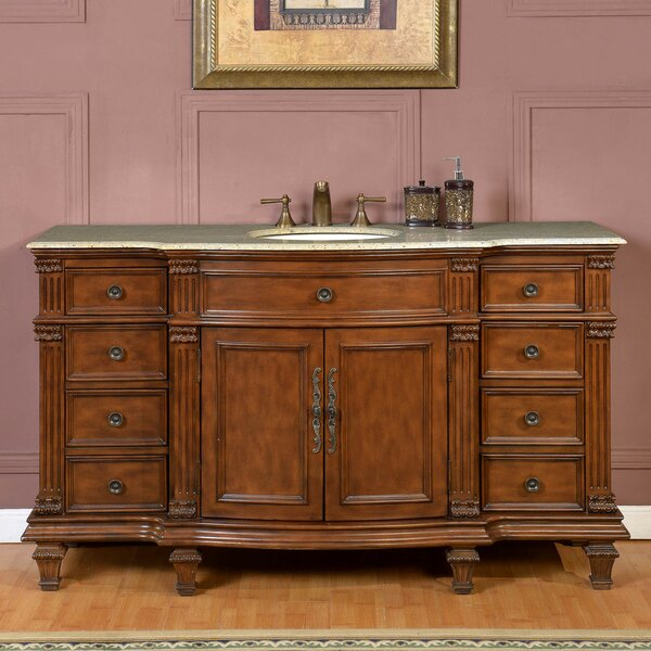 60 Single Sink Cabinet Bathroom Vanity Set by Astoria Grand