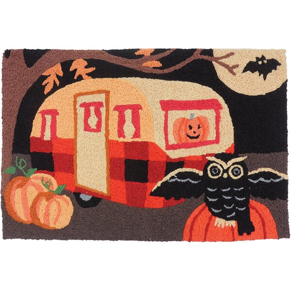Neela Spooky Trailer Utility Mat by The Holiday Aisle