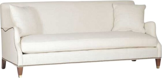 Lincoln Saddle Arm Sofa by Gabby