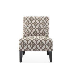 Portland Slipper Chair by Charlton Home